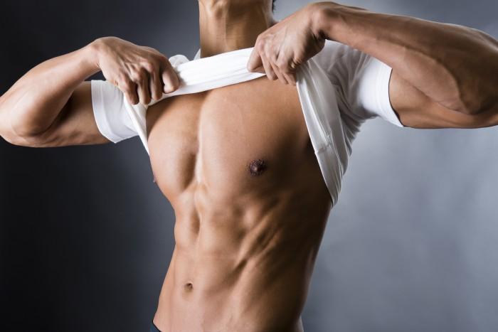 腹筋が6つに割れるメカニズム。目指す体脂肪率は10%