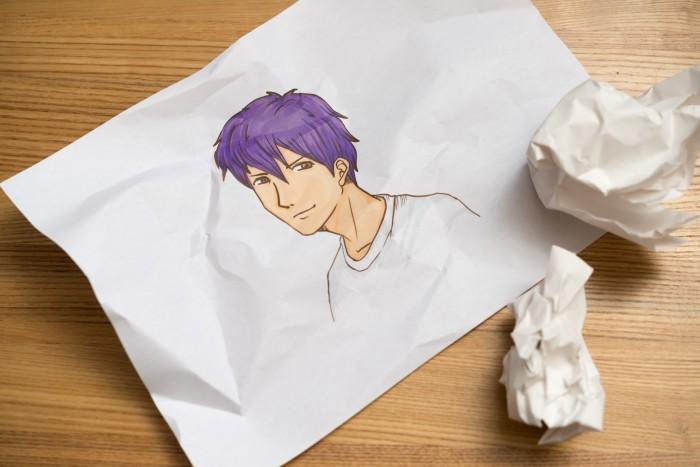 イケメンのイラスト